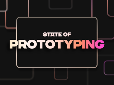 State of Prototyping by Design Week and Framer apps numbers stats data report state of prototyping framer prototype