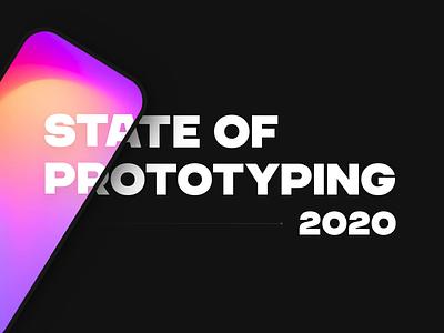 2020 State of Prototyping Report e-book pdf framer design week website mobile web insights stats data prototype prototyping report