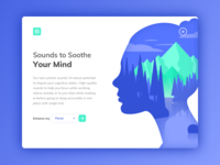 Nature Sounds App Landing Page
