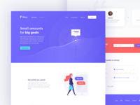 Savings Account Landing Page