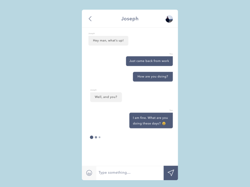 Daily UI #07 Chat messages conversation chat app chat ui chat ui daily ui