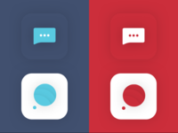 Message App Icon Exploration