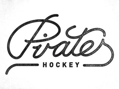 Pirates Hockey script pirates hockey logo text texture written