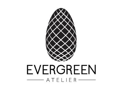 Evegreen Logo V2 pine cone evergreen tree cone pine logo