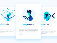 Careers website illustrations cards