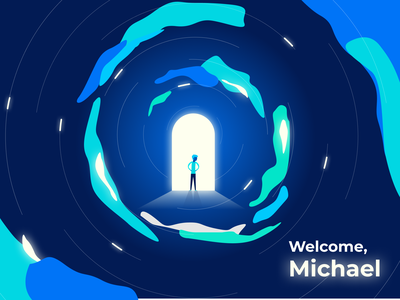Exo Investing - User welcome splash screen app fintech user welcome splash screen