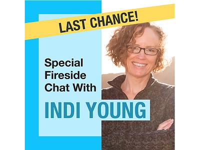 Indi Young last chance cyan half research ux design branding visual design design user experience ux social media design social media