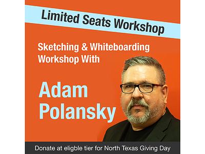 Adam Polasky Promote red branding research ux design visual design design user experience ux social media design fundraiser campaign social media