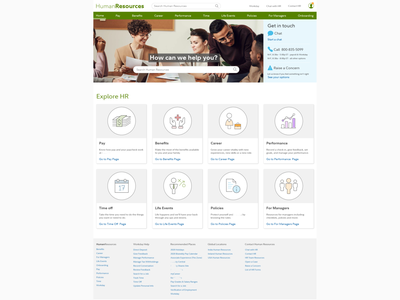 Website design of Human Resources mockups ui ux design research visual design design user experience ux