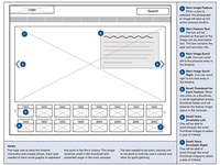 Law Firm History Wireframe