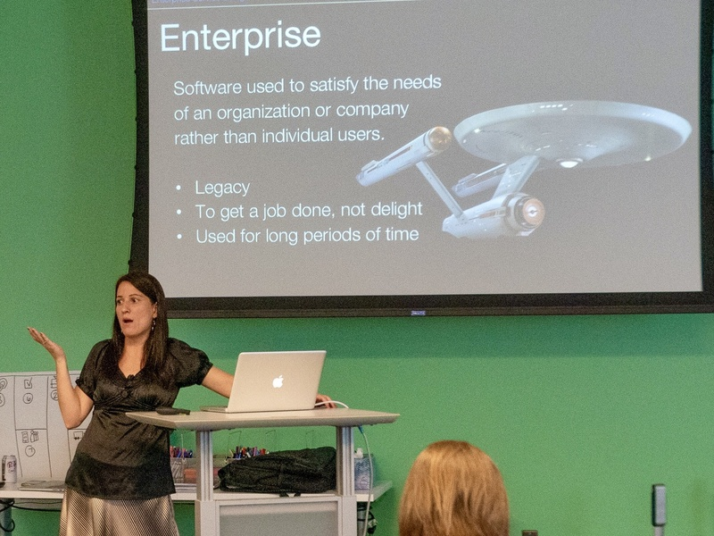 Service Design Enterprise Speaking