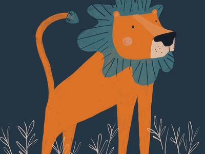 Happy little lionheart