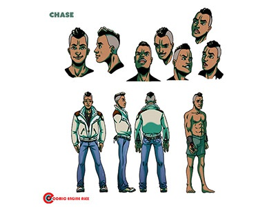 Chase Character Design 2