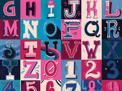 36 Days of type design typography vintage illustrative lettering illustrative design 36daysoftype hand lettering lettering type illustration