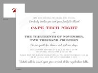 Cape Tech Invitiation