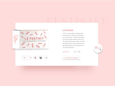 Product page product page product buy flat vector illustration website web design ux ui
