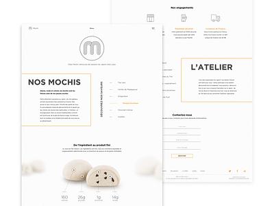 Mochi mochi gradient flat ios vector ux ui app illustration webdesign website web