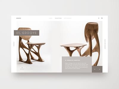 Daily Ui Challenge  #3 ui challenge landing page website webdesign uiux landing furniture design