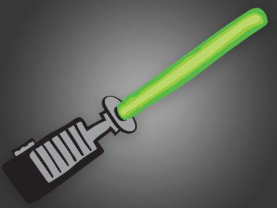 Obi-wan's Light Saber obi-wan lightsaber star wars