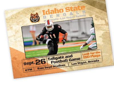 Tailgate postcard