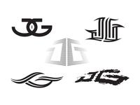 JG logo concepts