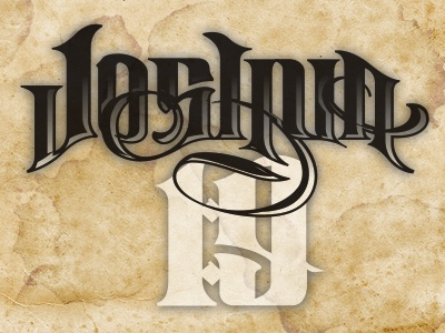 Joshua 19 By Joey Gifford Dribbble Dribbble