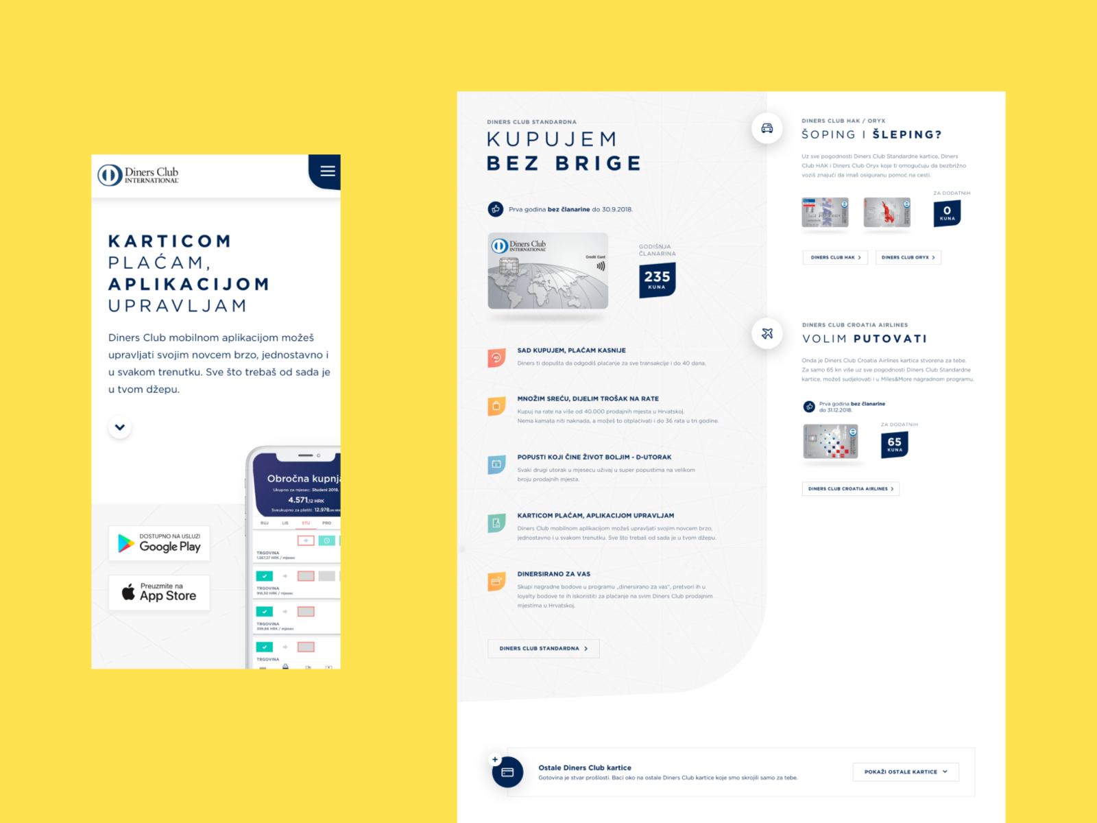 Diners Hr Results By Denis Krolo For Human On Dribbble