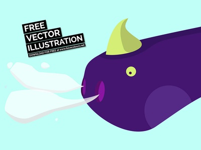 Breathing Dragon download for free freebie free download illustrator dragon vector illustration