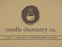 Candle Chemistry Co. Logo