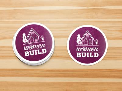 Women Build Sticker Mockup