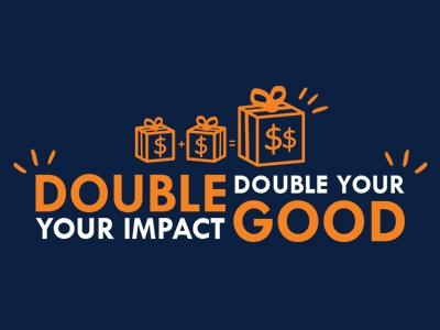 Double Your Good giving donations gift photoshop digital philanthropy