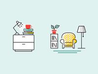 Illustrations for BookBub