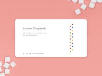 Zuc Business Card