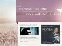 Deliverance Outreach Website Concept