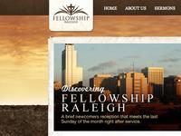 Fellowship Raleigh Website Design