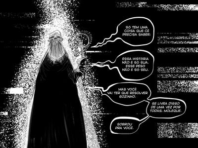 Tachyon - Comic Book art