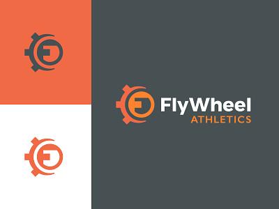 FlyWheel Logo simple identity design branding logo