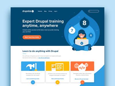 Homepage Design web design ux ui design illustration