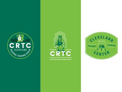 CRTC Wrestling simple wrestling design branding illustration logo