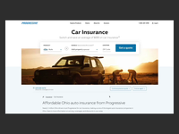 Progressive.com Redesign