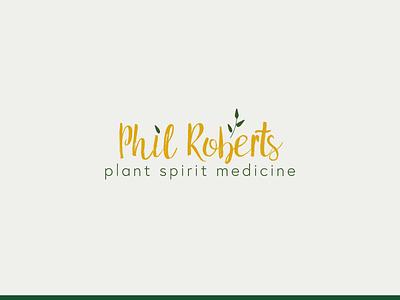 Phil Roberts branding logo