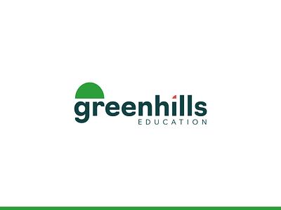 Logo - Greenhills Education logo design