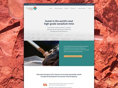 Mining Co Website web development web  design content