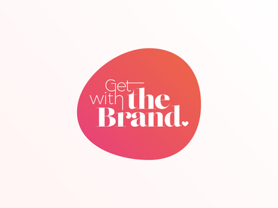 Logo Design | Get With The Brand branding design