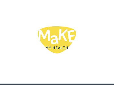 MaKe My Health Logo logo design