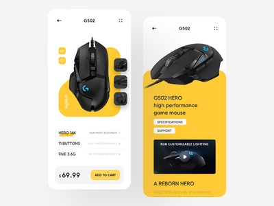 Logitech mouse purchase page