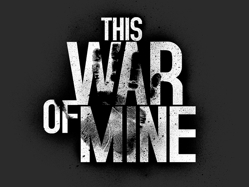 This War Of Mine Game Logo By Lazur On Dribbble