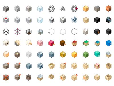 Cube - Vector isometric icon