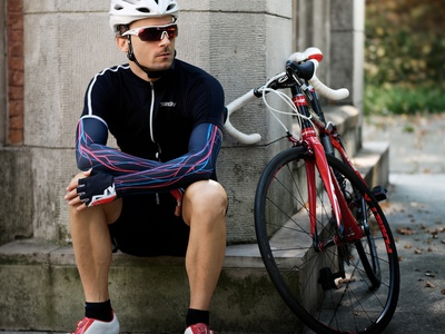 Circulatory system - Armwarmers for cyclist