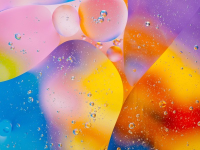 Edge of colors bubbles bubble photo colors abstract colors abstract macro photography